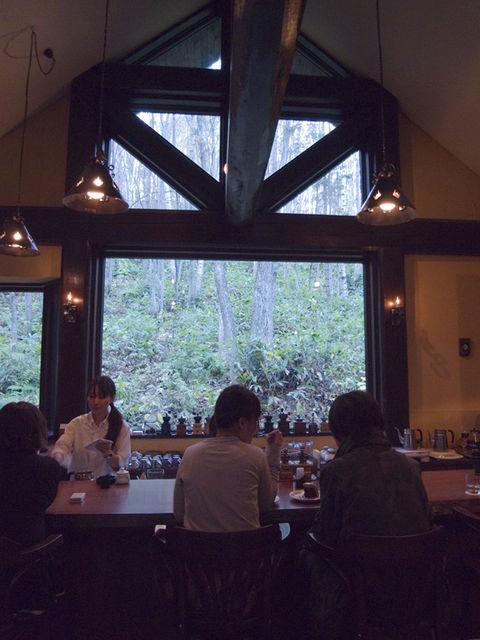 森の時計~富良野カフェ4