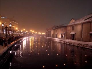 小樽運河~冬1