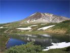 旭岳と夫婦沼・大雪山国立公園