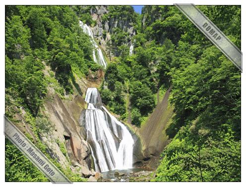 羽衣の滝~天人峡