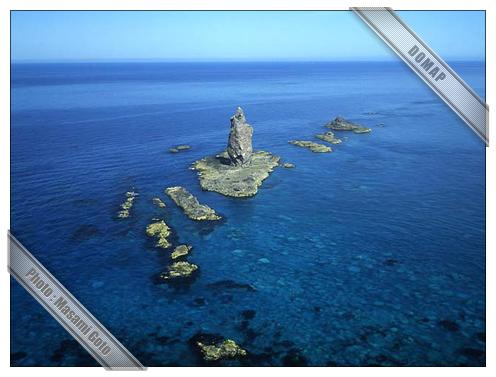 神威岩~積丹